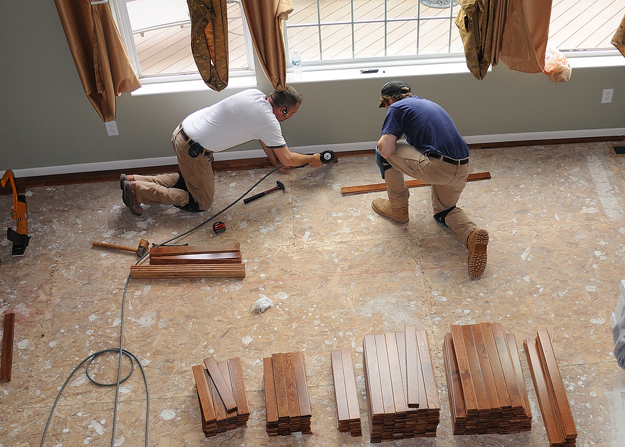 two men Boosting Home Value with Quick Renovations