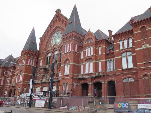 cincinnati music hall renovation plans