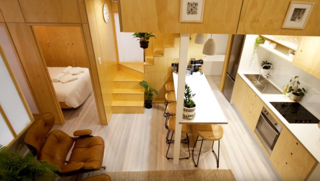 living big in a tiny apartment- home evolutions